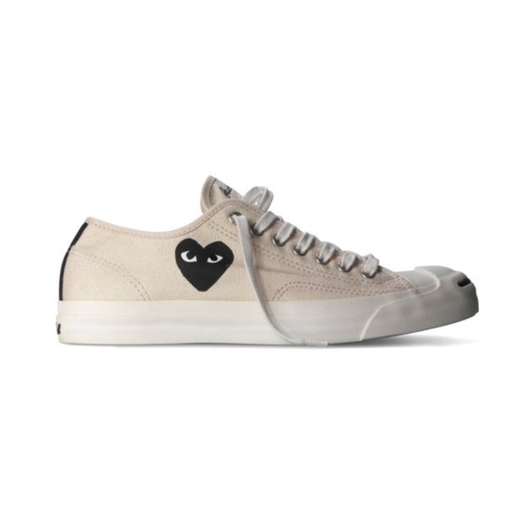 COMME des GARCONS PLAY x Converse Jack Purcell CDG